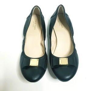 Cole Haan Black Ballet Flats